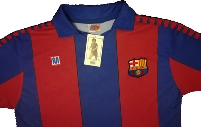 1247877ab Jersey Barcelona Retro 1982-1984 Homenaje A Maradona!! -   940.00 en ...