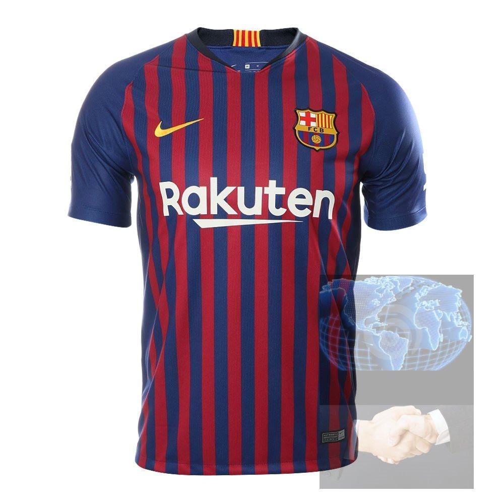 Jersey Barcelona Roja Azul Nike 2019 Nueva Local Playera Ori ... ec92ea5100b