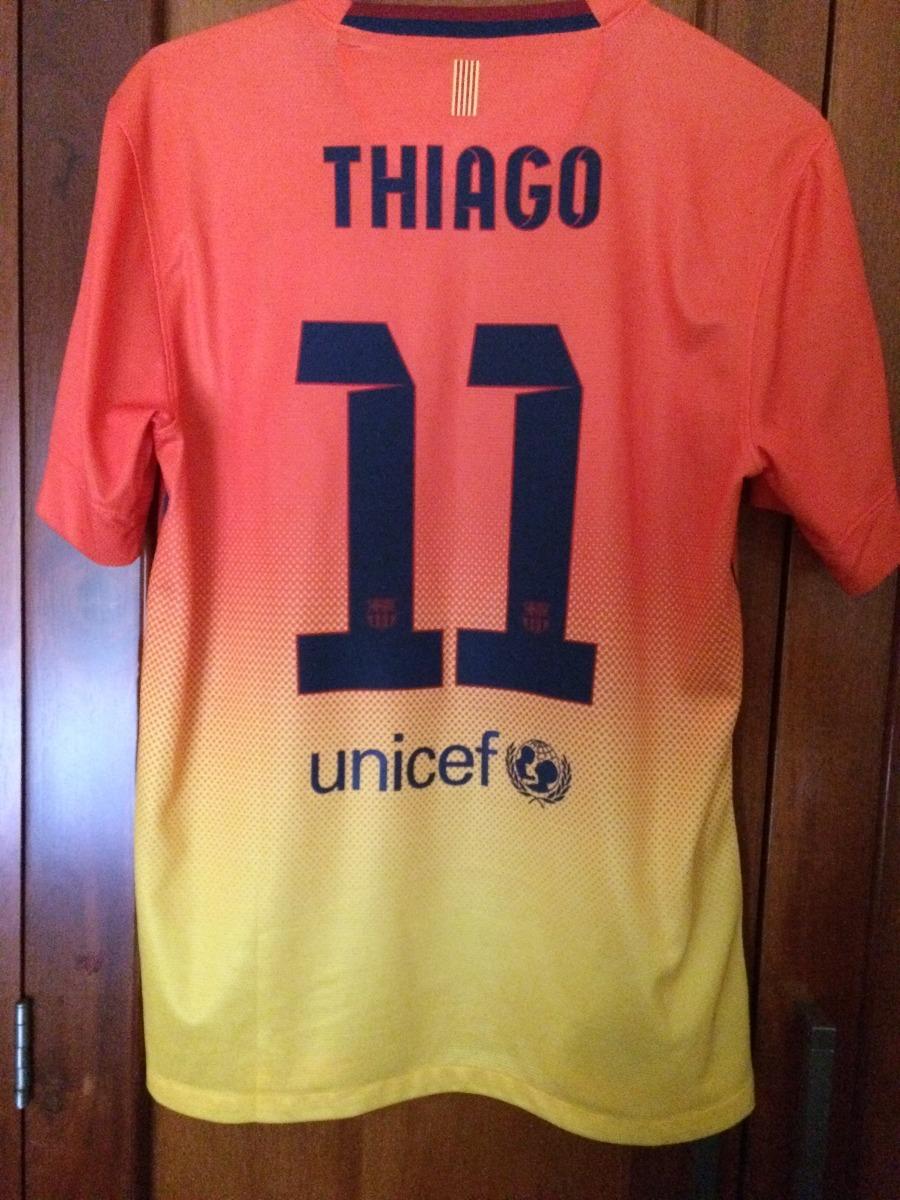 official photos 78ea8 e13c4 Jersey Barcelona Visita 2012-2013 Thiago Alcántara