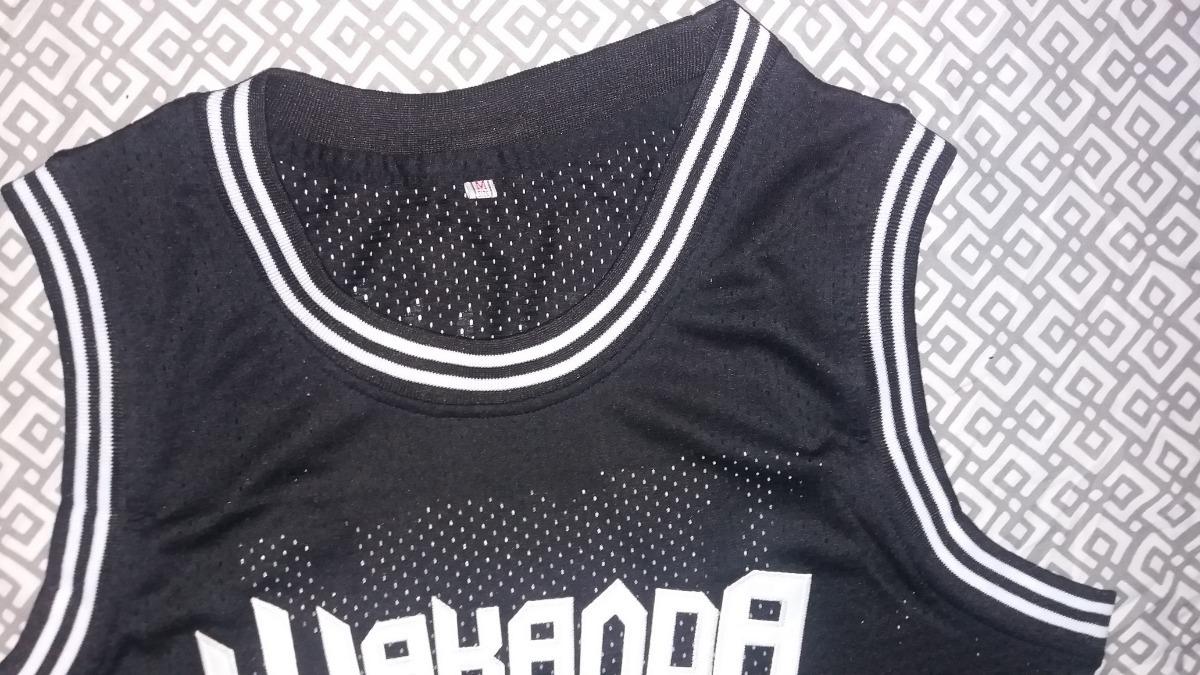jersey basquetbol pantera negra wakanda t´challa mediana. Cargando zoom. c54d2e9e5