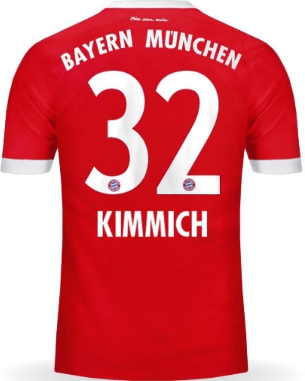 cheap for discount 9f03a ed27d Jersey Bayern 2018 Rojo Joshua Kimmich Envío Gratis