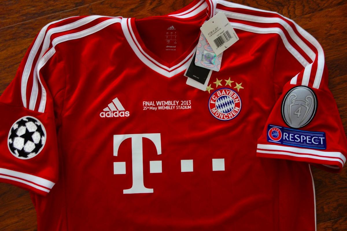 online store 0f0a5 cf526 Jersey Bayern Munchen Local Original Final Champions League
