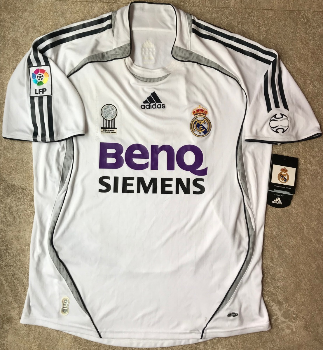 best cheap 97811 1c099 Jersey Beckham Real Madrid 2006-2007 Ronaldo Brasil