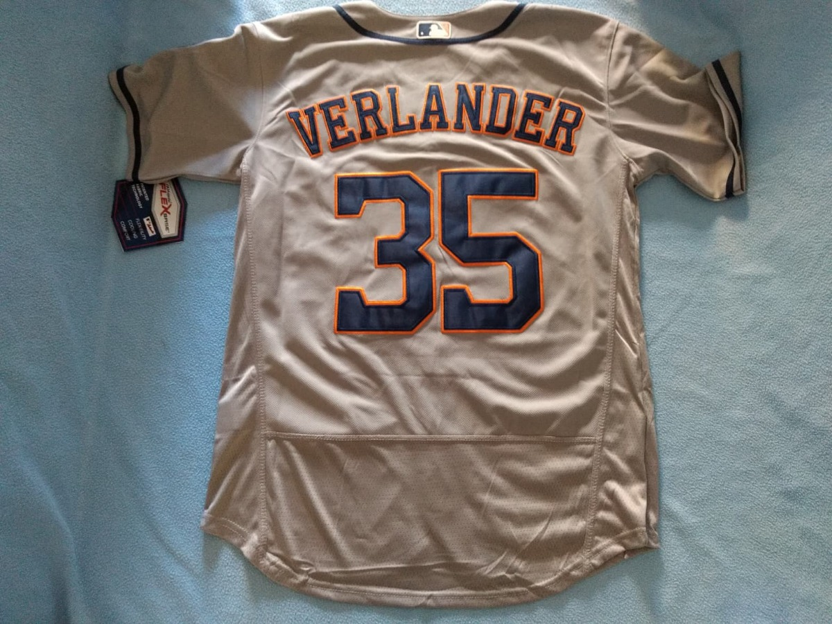 cheap for discount 6c568 0cf3c Jersey Beisbol Mlb Astros Houston Justin Verlander (mediana)