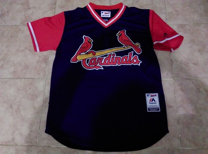 a3ab3e6fff72a Jersey Beisbol Mlb Cardenales San Luis Sin Nombre Mediana -   799.90 ...