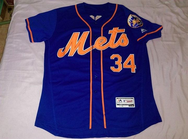 f8de183b74164 Jersey Beisbol Mlb Mets New York Noah Syndergaard  34 -   799.90 en ...