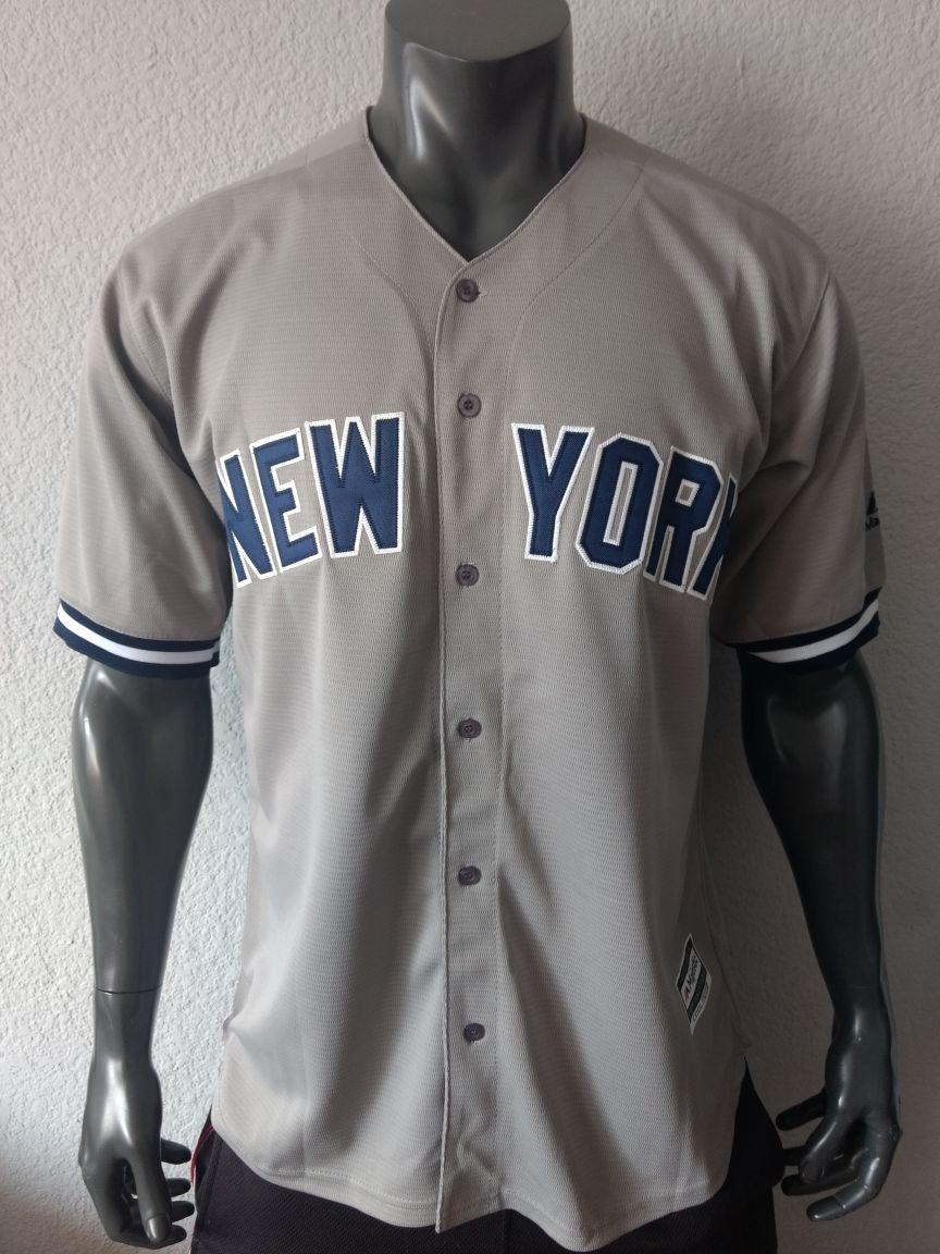 meet abbbd c7615 Jersey Beisbol New York Yankees Stanton Talla M Hombre