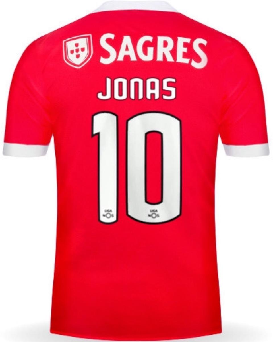 hot sale online 2106f 56788 Jersey Benfica 2018 Local Jonas Gonçalves Envío Gratis