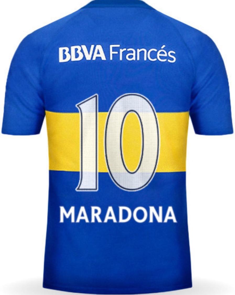 uk availability c9ed5 70e45 Jersey Boca Juniors 2016 Diego Armando Maradona Envío Gratis