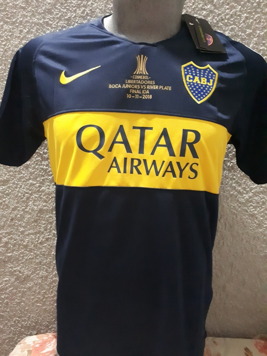 best service b1e6f 208b0 Jersey Boca Juniors Copa Libertadores #23 Tevez