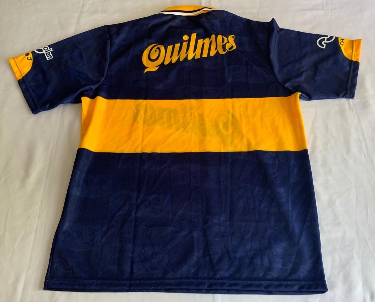 sports shoes 424e3 61f0f Jersey Boca Juniors Copa Libertadores Nolan Maradona