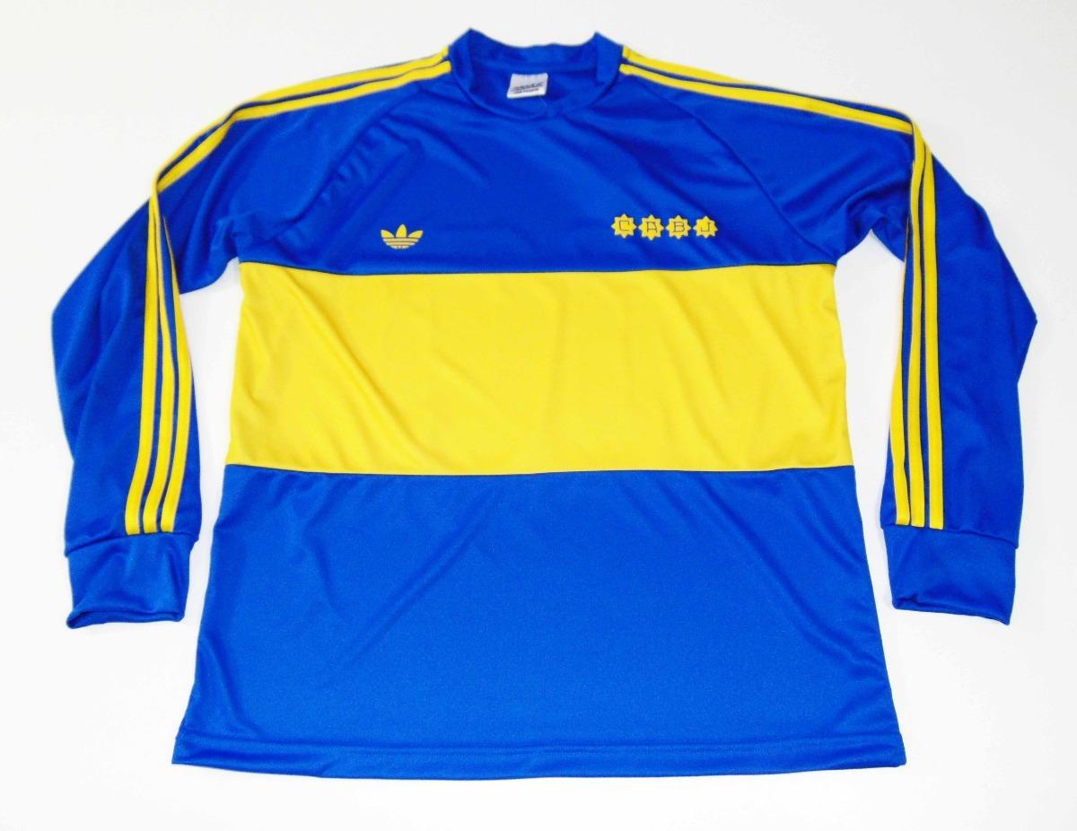 the latest b6507 d37a5 Jersey Boca Juniors Maradona 1981 Retro Argentina Napoli
