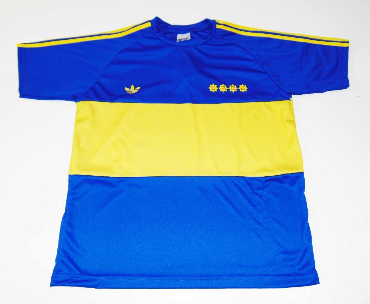 half off 2f8d9 a3eb8 Jersey Boca Juniors Maradona 1981 Retro Manga Corta Napoli