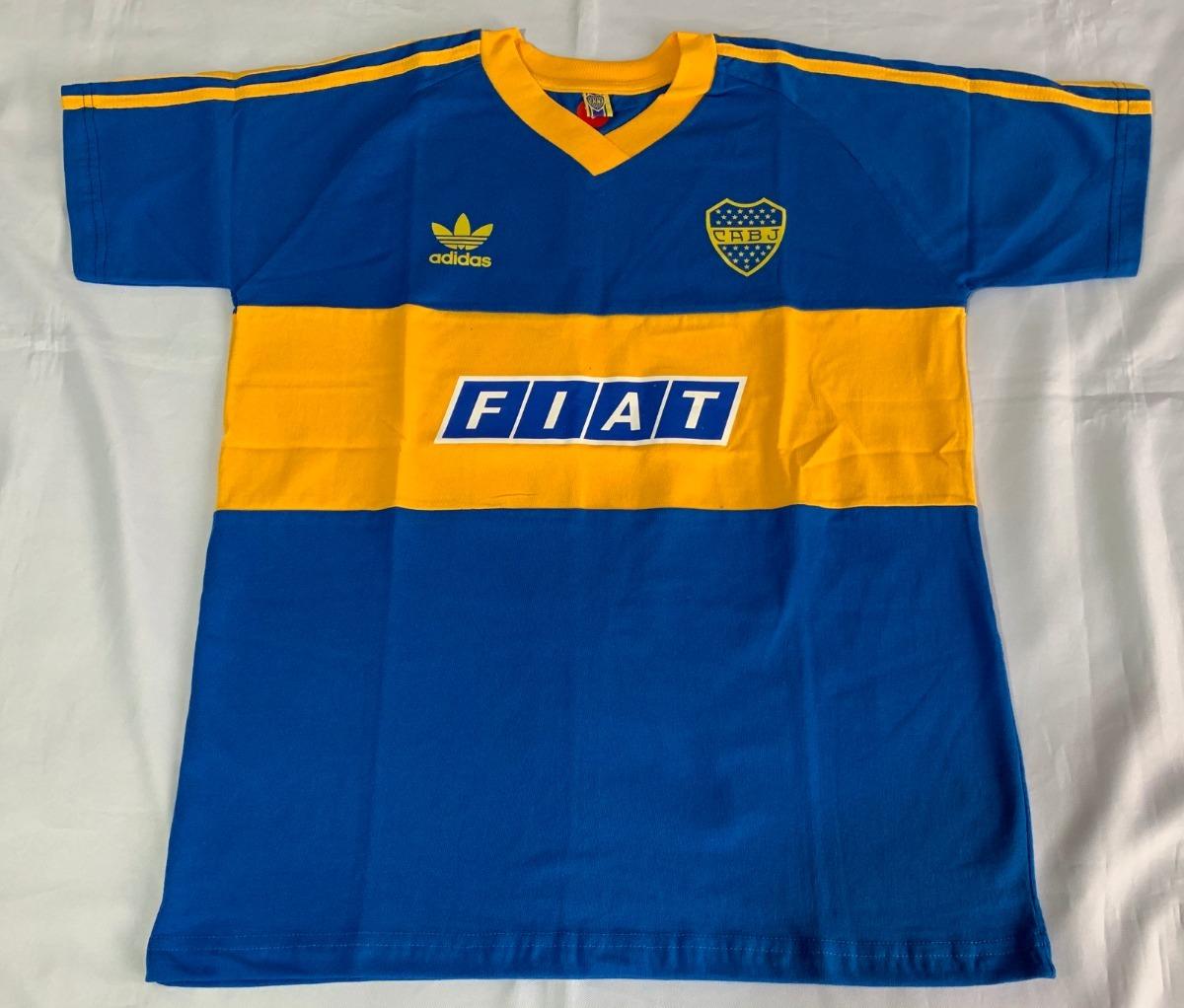 buy popular 29c29 be02c Jersey Boca Juniors Retro Importa Diego Armando Maradona