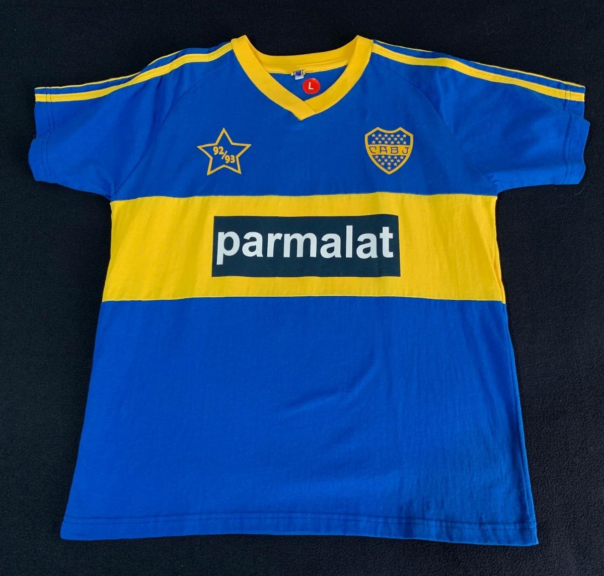 new styles bba82 118f6 Jersey Boca Juniors Retro Importa Maradona Libertadores