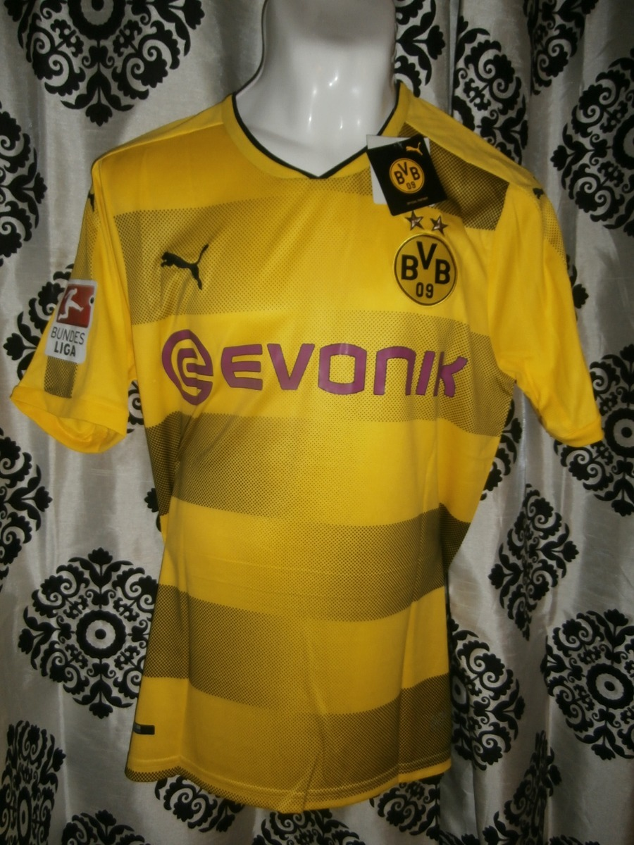 wholesale dealer d9274 00005 Jersey Borussia Dortmund Local 2017/18 Marco Reus Bundesliga