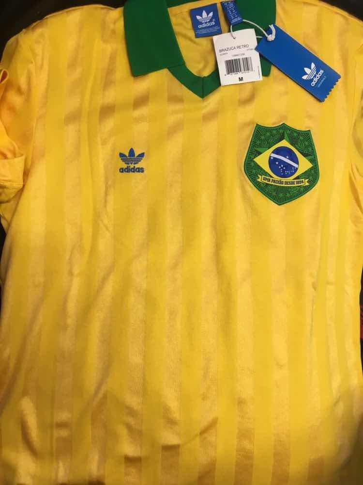 Jersey Brasil Edición Especial adidas Originals