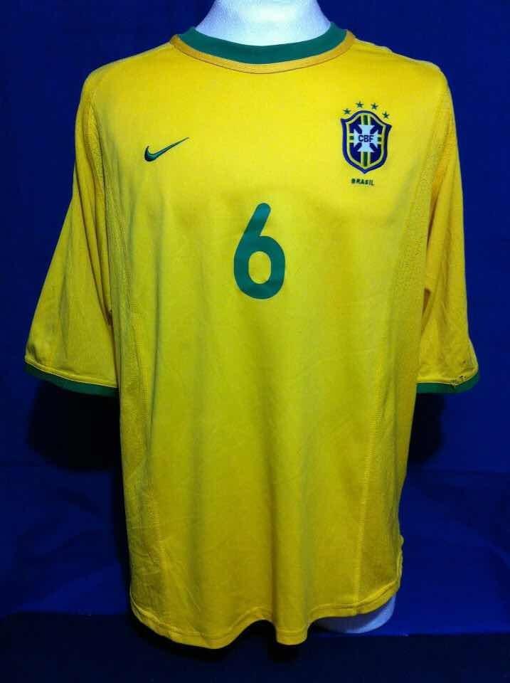 competitive price ffbfc 4f23d Jersey Brasil Nike Roberto Carlos Ronaldo Romario Bebeto - $ 800.00