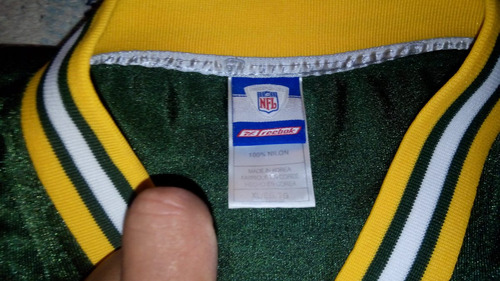jersey brett favre, green bay packers, estampado, talla xl