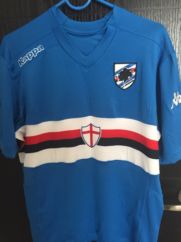 jersey caballero kappa sampdoria local 2014-2015