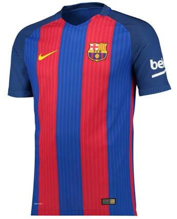 7f0e604d8ac0e Jersey Camiseta Barcelona 2016-2017 Nike Original -   899.00 en ...
