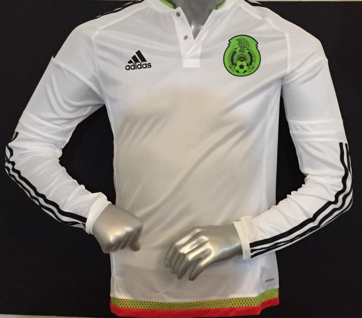 jersey camiseta mexico adizero visita blanca manga larga 6. Cargando zoom. f67372867867f