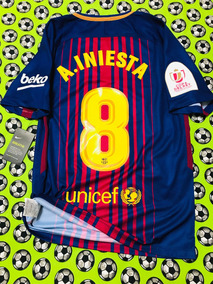 Nike Iniesta Fc Jersey 2018 Andres Barcelona 2017 Camiseta AqjLR435