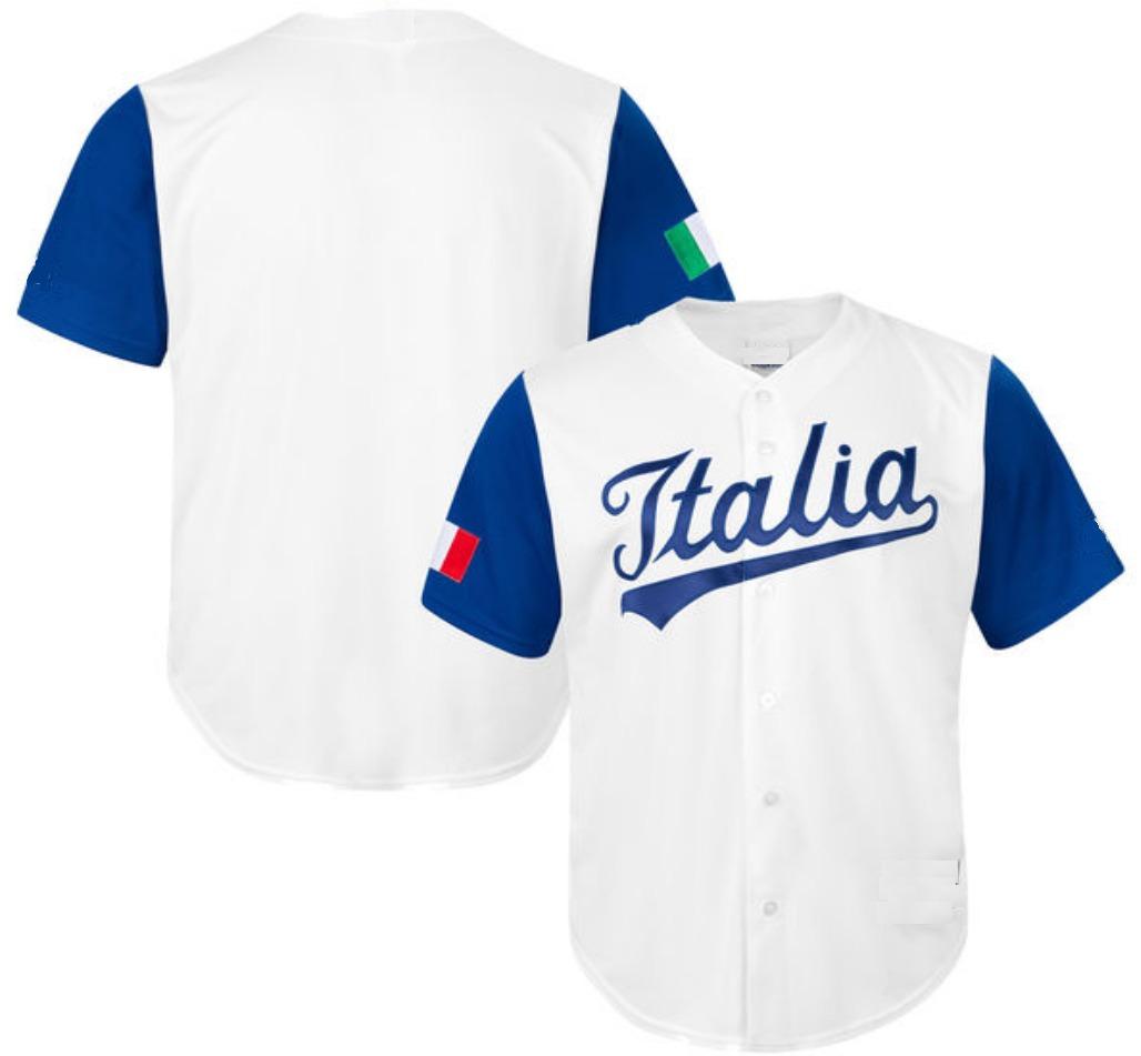 Jersey Camisola Beisbol Italia -   350.00 en Mercado Libre 46672f473c36f