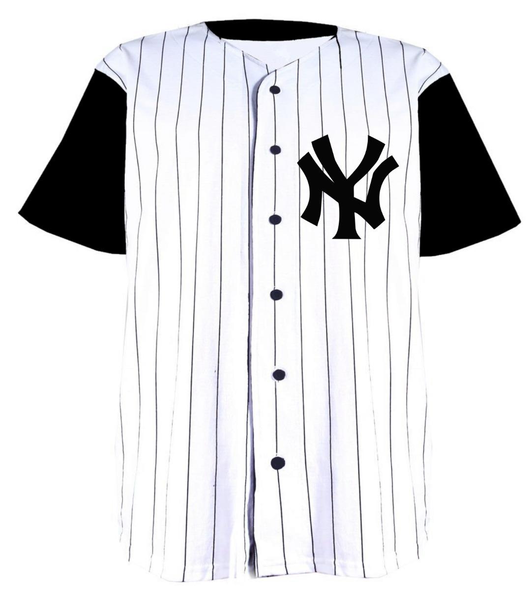 4009aa550739e1 Jersey Camisola Beisbol Ny - $ 350.00 en Mercado Libre