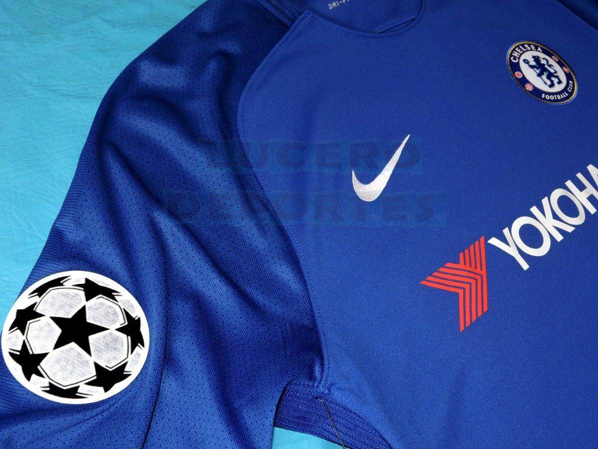 Jersey Chelsea Champions League -   550.00 en Mercado Libre 8d0a4af7c0544