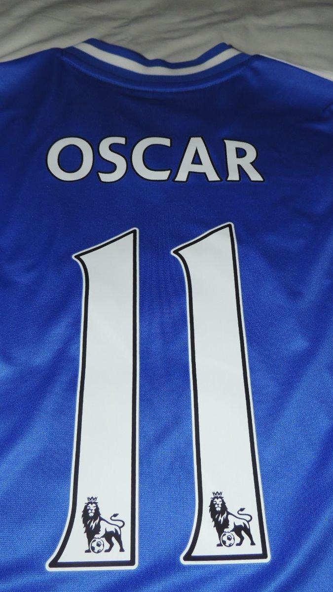 new product bd395 f97ef Jersey Chelsea Oscar 11 Local Marca adidas
