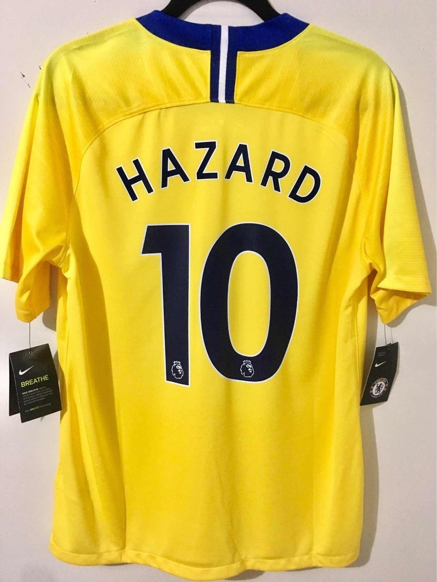 premium selection 5e08c a6ad9 Jersey Chelsea Visita Nike Eden Hazard 10