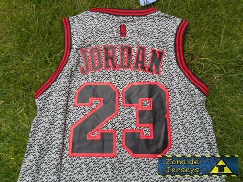 jersey chicago bulls edicion especial gris michael jordan 23