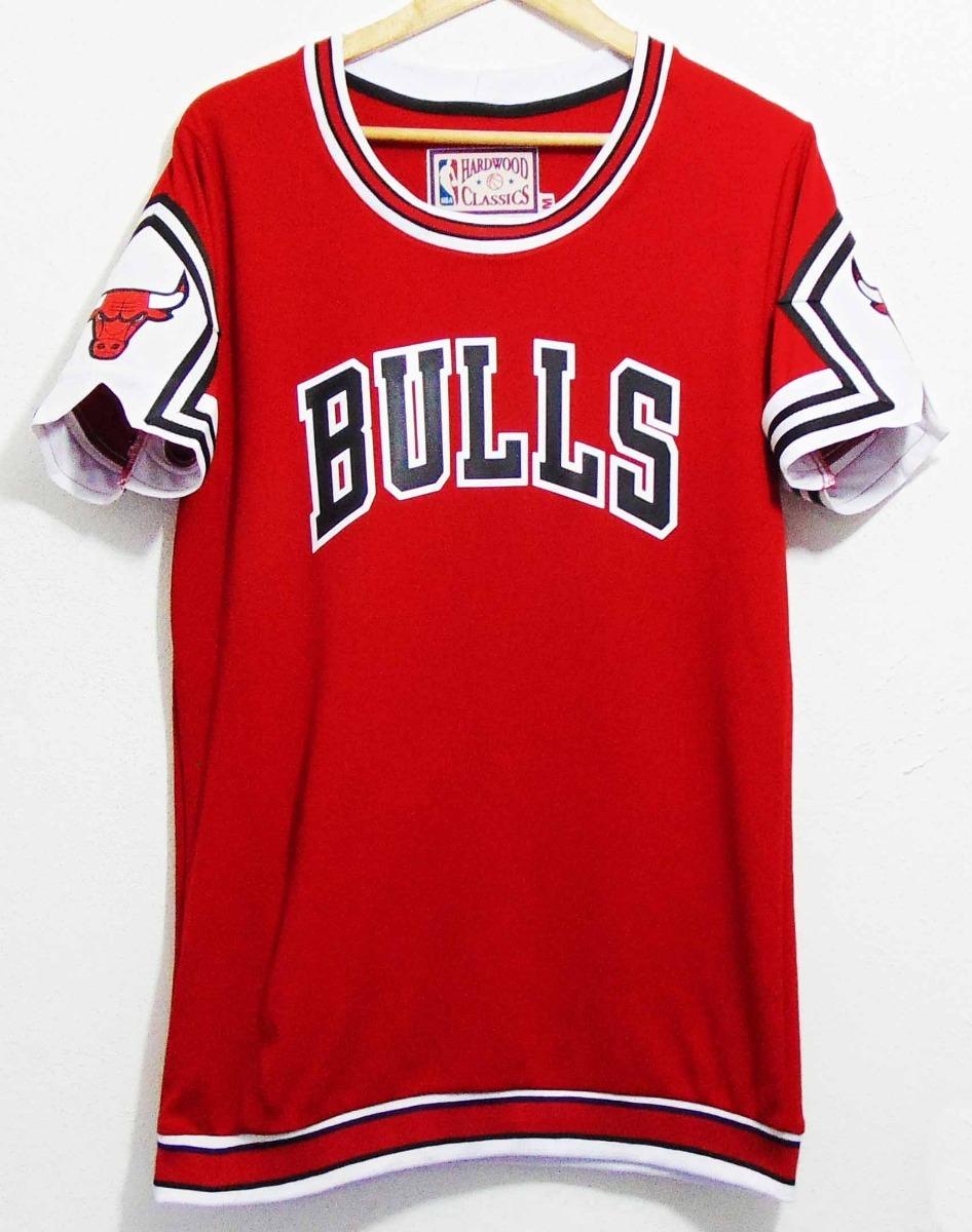 hot sale online 6bdf5 55001 Jersey Chicago Bulls Entreno Retro Jordan Pippen Rodman Nba