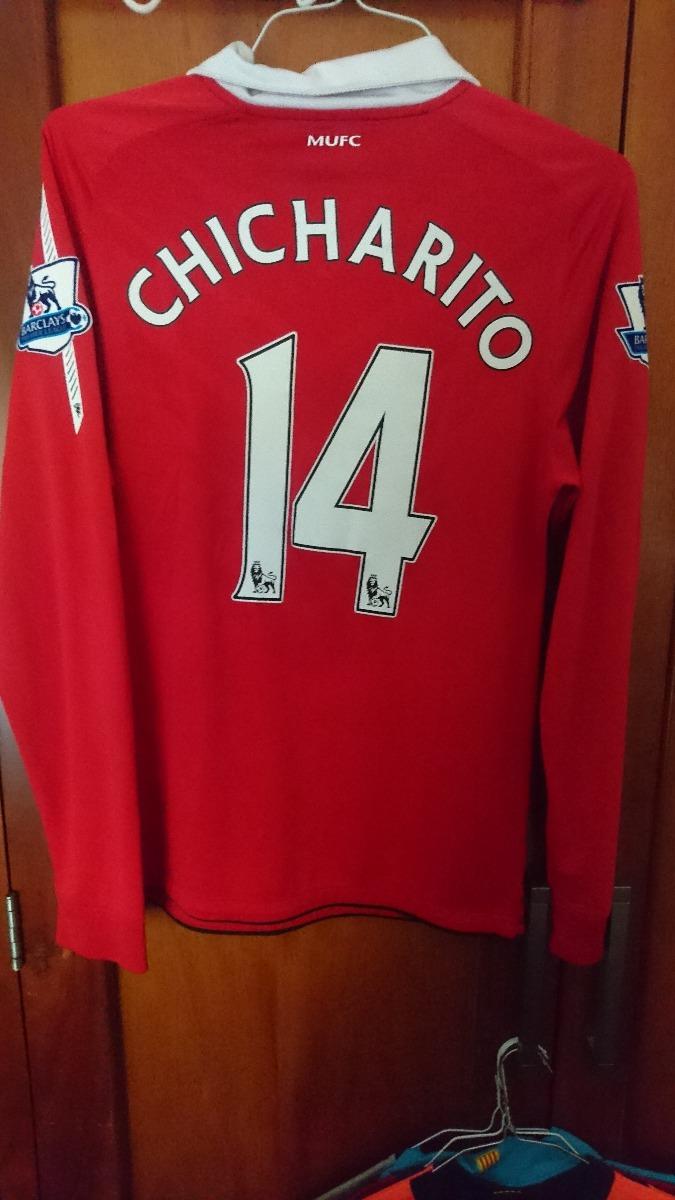 jersey chicharito manchester united 2010 2011 manga larga. Cargando zoom. 3772134ce