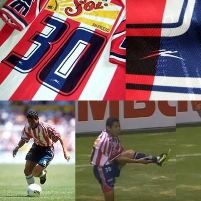 finest selection 436c7 eab3c Jersey Chivas 1998 No.30 Ramon Morales Debut - $ 1,200.00