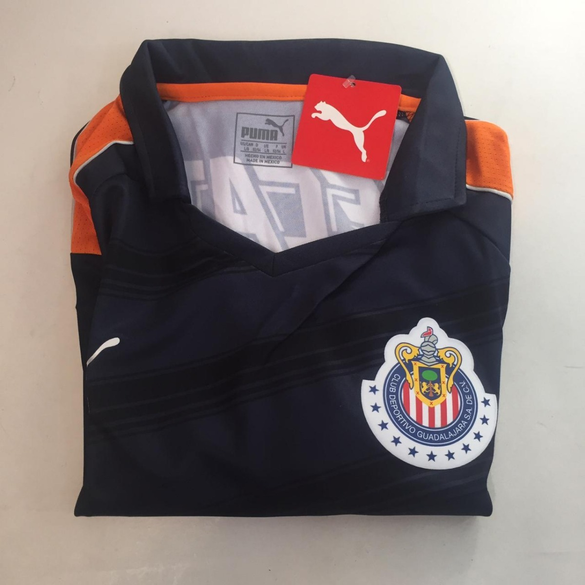 Jersey Chivas Camisa Original Puma Guadalajara Caballero -   549.00 ... 56ea507dcfc63