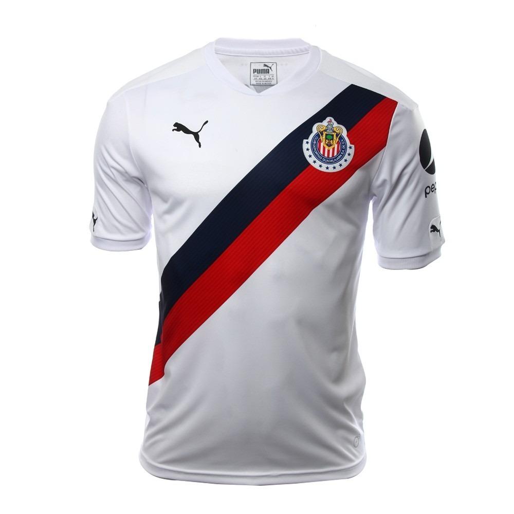 Jersey Chivas Camisa Original Puma Guadalajara Visita -   426.00 en ... c0d2c8aa82548