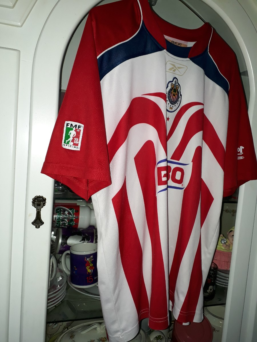 7d9dbee76f2 Jersey Chivas Guadalajara 101 Años Omar Bravo Año 2007 -   900.00 en ...