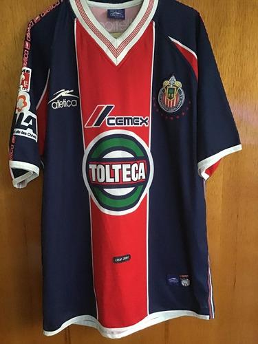 jersey chivas guadalajara atletica 2001 original epoca