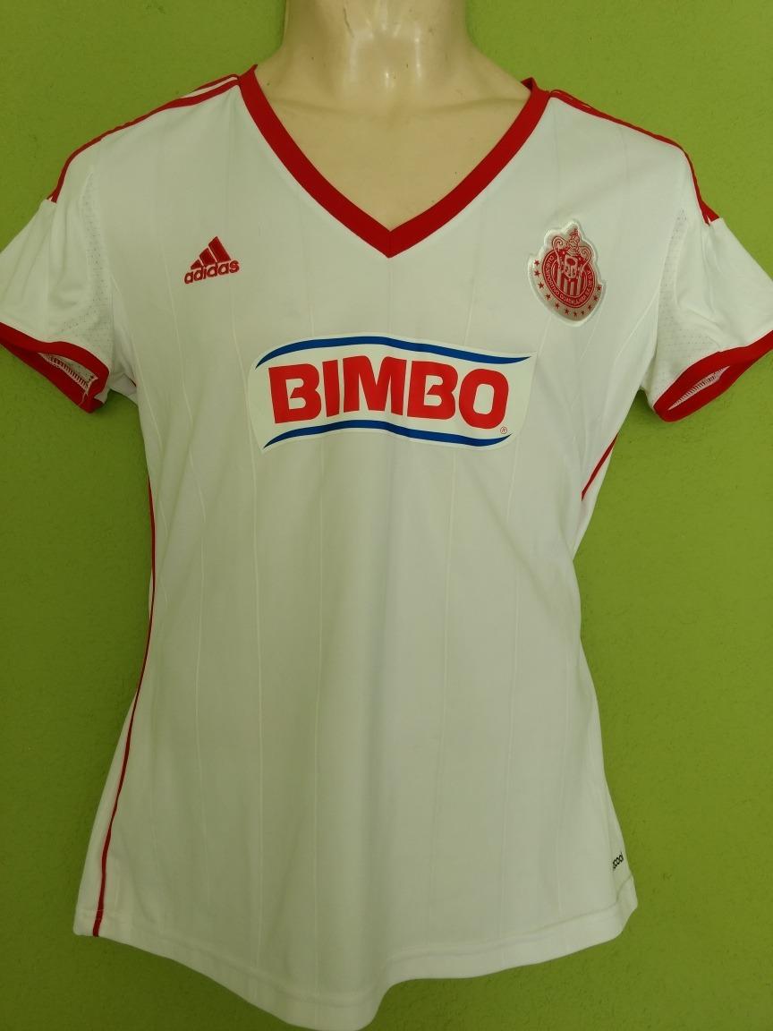 sale retailer f3674 a06ce Jersey Chivas Guadalajara Dama adidas Clima Cool Talla L - $ 299.00
