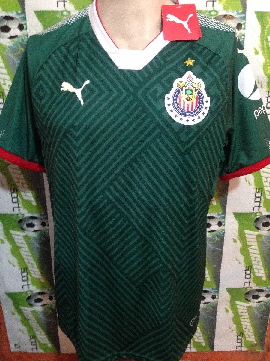 online retailer 7e33b 83463 Jersey Chivas Guadalajara Puma 100% Original 2018 Verde