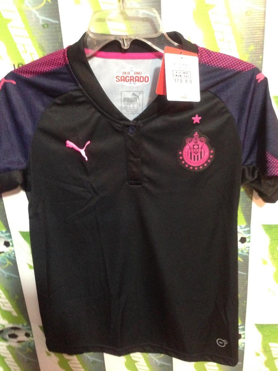 finest selection 169d3 f21db Jersey Chivas Guadalajara Puma100%original 2017 Pink Project