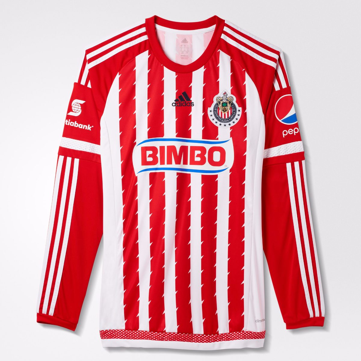 jersey chivas local 2015 manga larga adidas 100% original. Cargando zoom. a5708b241db2c