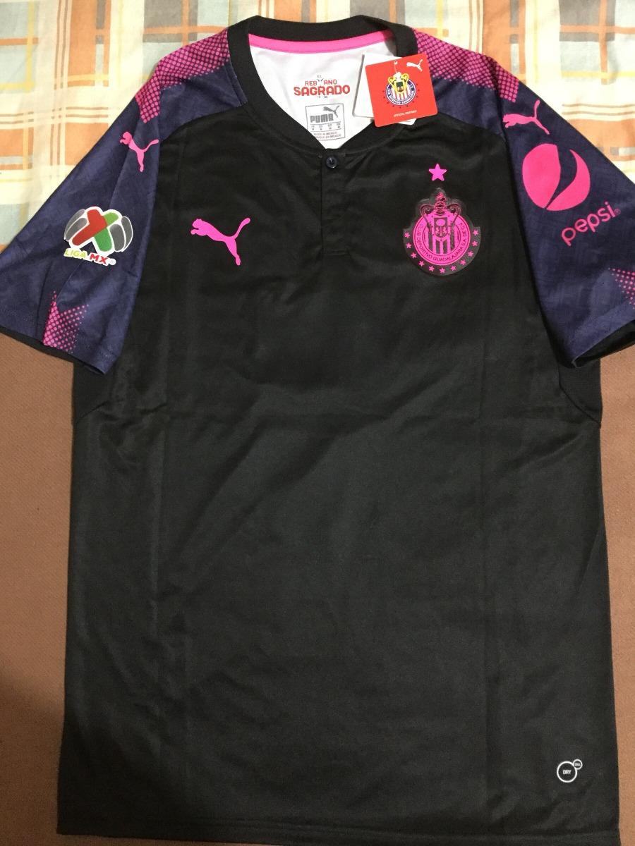 size 40 a342e 7322d Jersey Chivas Pink Project 2018 Pulido Puma Guadalajara