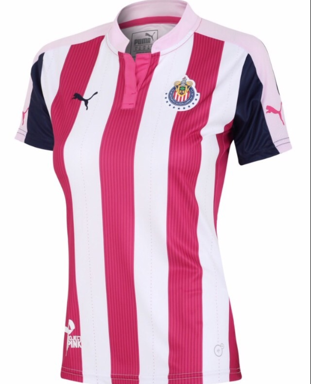 newest 54548 e4b57 Jersey Chivas Project Pink