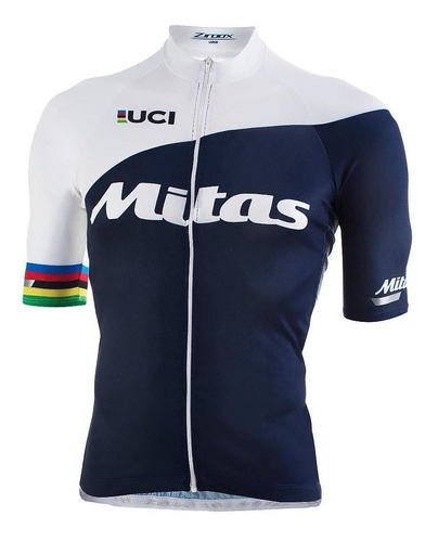 jersey ciclismo mitas unisex talle  l