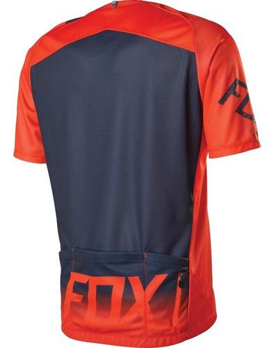 jersey ciclista deportiva livewire descent fox