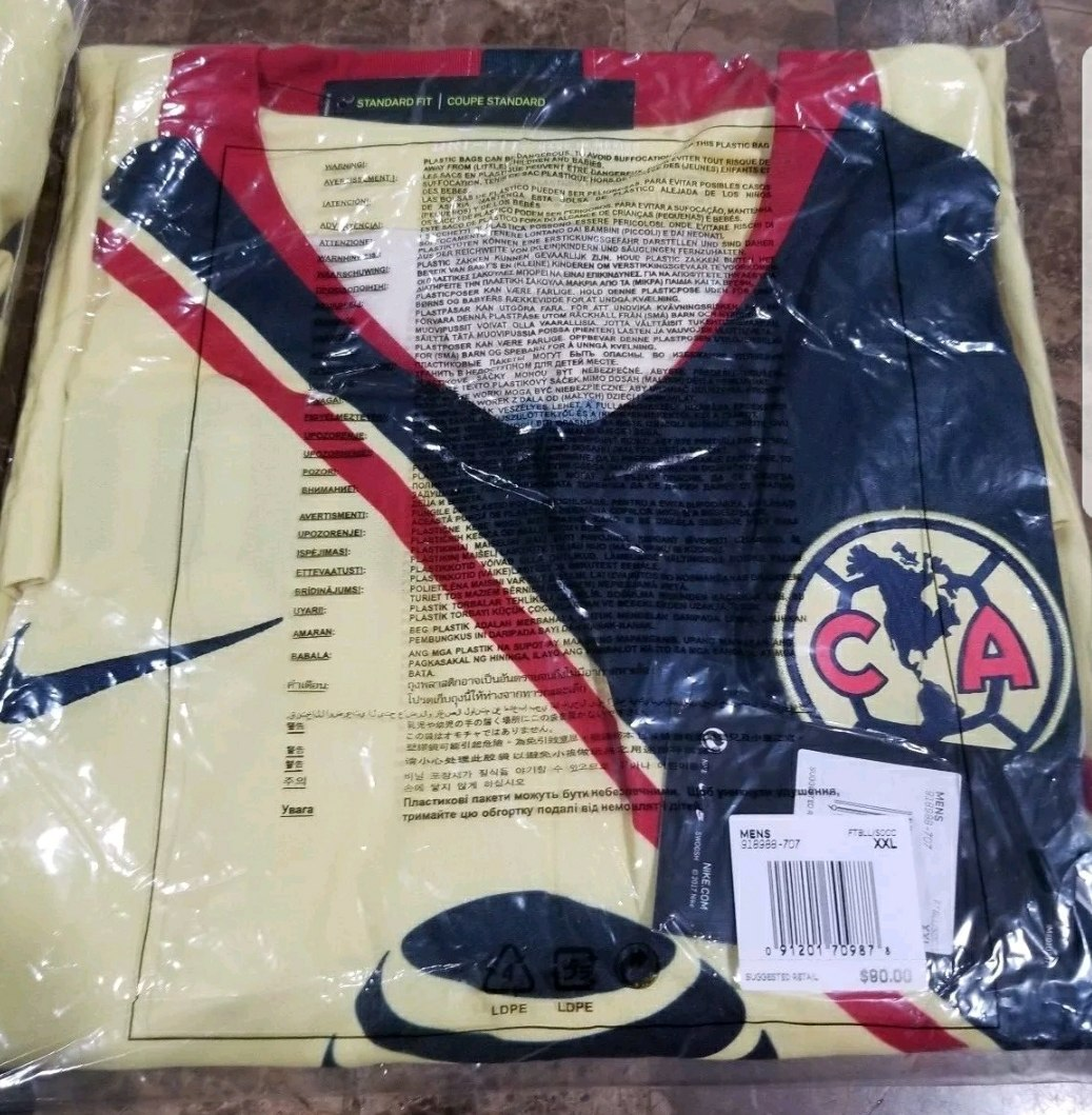 Jersey Nike Local Club America 2018 2019 Talla Xxl Original ... 121bc1200df