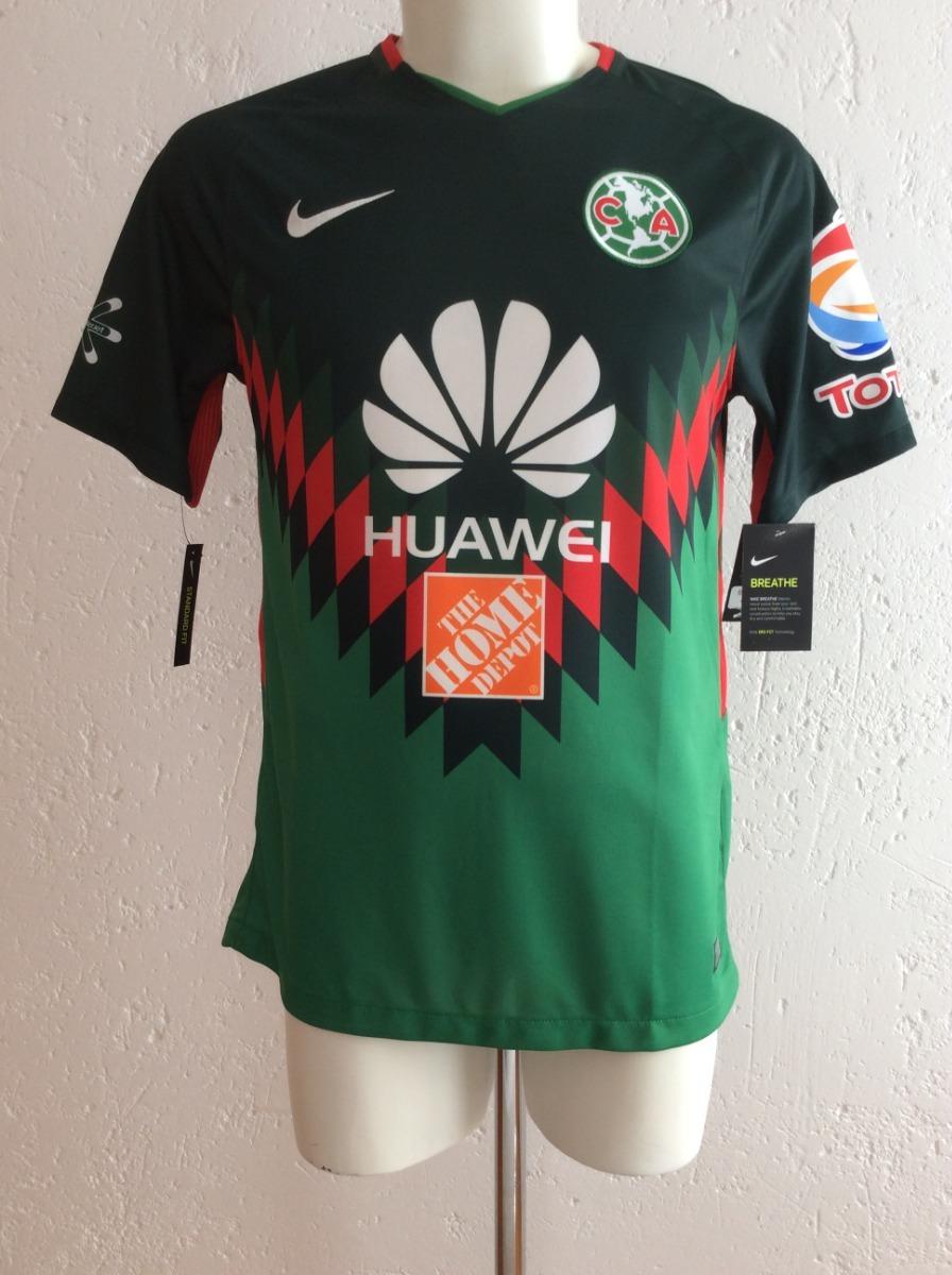 competitive price 05745 36c1d Jersey Club América Edición Mundial 2018 Verde Nike México